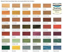 Lowes Stain Color Chart Colored Wood Stain Water Based Stain A Wood Stain Colors