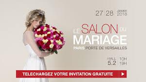 Salon Du Mariage Paris Les 27 Et 28 Janvier 2018