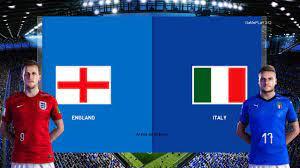PES 2020 - ENGLAND VS ITALY - YouTube