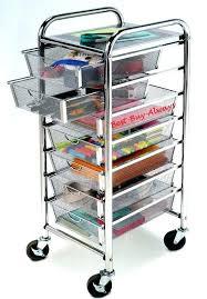 rolling office cart. Rolling Office Cart Scrapbook Storage Organizer Nice Best
