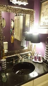 modern alice in wonderland bathroom