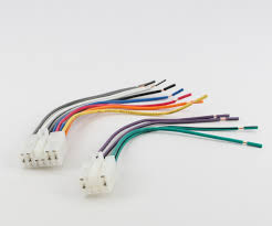 xtenzi reverse wiring harness for car in dash stereo xtenzi car stereo reverse wiring harness for toyota scion 1987 up oem radio 1761