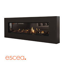 escea ds1400 high output frameless gas fireplace
