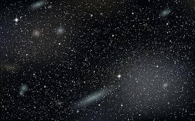 空の星と背景テンプレート ベクター画像 無料ダウンロード