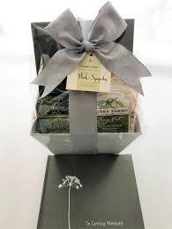 blebdesign condolence basket sympathy gift baskets seattle wa