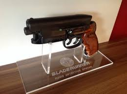 Handgun Display Stand Display Stand Blade Runner blaster prop replica 97