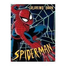 Spiderman Coloring Book Kanarienvogel Info