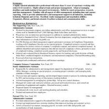 Best Sample Resume Administrative Assistant Resumes Refrence Free ...