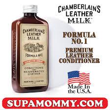 chamberlain s leather milk premium leather conditioner formula no 1 177