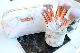 marble makeup brushes. marble-marbleous-brushes-makeup-rosegold-spectrum marble makeup brushes c