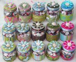 Decorated Candy Jars cute crafts a gallery on Flickr 10