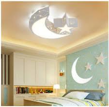 kids ceiling lights. Star Moon Acrylic Ceiling Light Fixture Baby Kids Room Lamp LED Bedroom Lights