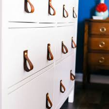Furniture pulls Shabby Chic Diy Leather Drawer Pulls The Spruce 10 Ways To Revive Furniture With Decorative Hardware
