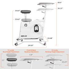 IDEER LIFE <b>Magnetic</b> Foldable <b>Exercise</b> Bike, Cardio <b>Workout</b> ...