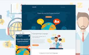 Html Website Templates Beauteous 48 Best Education HTML Website Templates 48