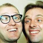 Rik Mayall and Adrian Edmondson