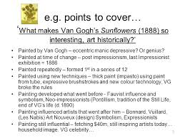 art essay example introduction eg what makes van gogh s 3 3