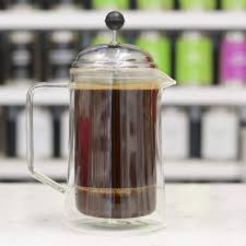 grosche stanford double walled glass french press with
