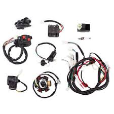 complete electronic wiring harness magneto stator gy6 125 150cc atv Hammerhead 150Cc Go Kart at 150cc Go Kart Wiring Harness