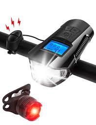 AIRSOFTPEAK <b>Bike Light</b> Set <b>Bike Lights</b> Front and Back <b>Bicycle</b> ...