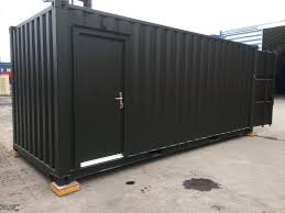 cargo container office. Wonderful 7 Bright Red Shipping Containers As Modern Offices In Port Container Cargo Office -