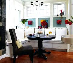 morning room furniture. Ideas Morning Room Design Breakfast Nook Seating Stunning Round Table With Storage Bench B Furniture