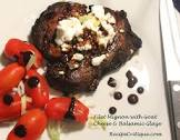 balsamic and goat cheese filet mignon