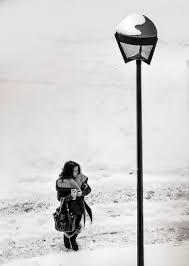 Girl, Snow, Winter, Waiting, Cold, people, season, white, street, lamp   Pxfuel