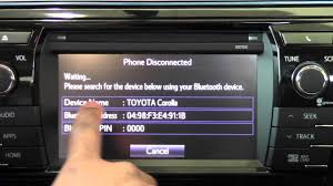 2014 Toyota Corolla Connect Android Phone How To By Brookdale ...