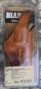 Details About Bianchi Thumbsnap Suede Lined 5bhl Rh Tan Leather Holster Size 6 Revolvers New