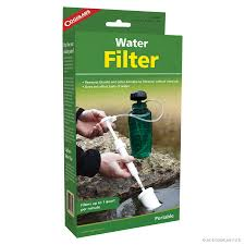 How To Filter Water Without A Filter Water Filter Water Treatment Coghlans