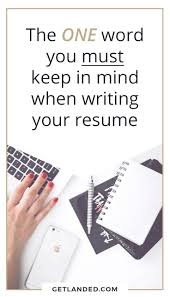 107 Best Resume Writing Tips Images On Pinterest Interview