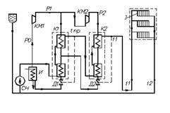 Реферат Тепловые насосы Схема теплоснабжения с помощью тепловых насосов