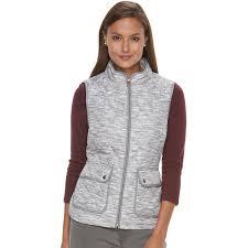 Women's Croft & Barrow® Zip-Up Quilted Vest (25 CAD) ❤ liked on ... & Women's Croft & Barrow® Zip-Up Quilted Vest (25 CAD) ❤ liked Adamdwight.com