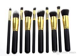 2016 silver gold shank makeup brush set beauty makeup tool face powder brush brush set makeup brushes set makeup brush sets makeup brush kit