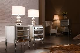 Small Night Stands Bedroom Mirrored Nightstands Contemporary Bedroom