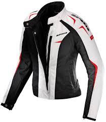 spidi sport lady textile jacket white women s clothing jackets spidi airtech spidi carbo track