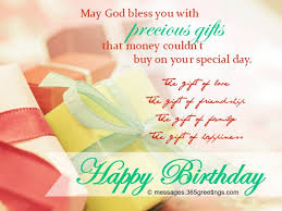 Birthday Blessing Quotes Interesting Christian Birthday Wishes Religious Birthday Wishes 48greetings