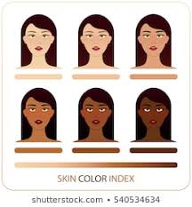African American Complexion Chart Skin Color Images Stock Photos Vectors Shutterstock