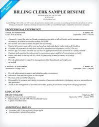 billing resume sample homely design medical ...