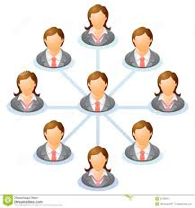 Organization Chart Stock Vector Illustration Of Call 32768607