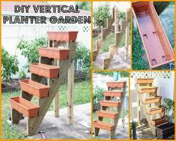 diy vertical wall garden planter