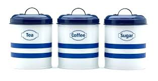 blue glass kitchen canisters floor protectors cobalt canister set cute jars coffee