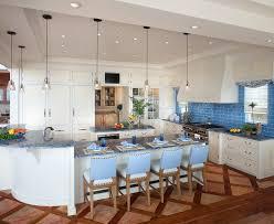 Blue Tiles For Kitchen Blue Subway Tile Kitchen Modern With Glass Backsplash Glass Subway