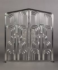 Image Paul Feher Traditional Art Deco Grill Fireplace Screen Made In The Style Of Edgar At Art Deco Wingsberthouse Traditional Art Deco Grill Fireplace Screen Made In The Style Of