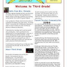 Kindergarten Welcome Letter Awesome Parent Letter My