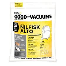 Filta Vacuum Bags - <b>Nilfisk</b> / <b>Alto</b> / Karcher   Bunnings Warehouse