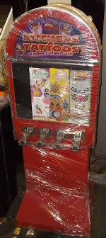 Tattoo Vending Machines For Sale Extraordinary STICKER TATTOO 488 Slot Merchandising Vending Machine For Sale 488