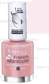 Rimmel London Lycra Pro Lak Na Nehty Francouzská Manikúra 433 French Ivory 12 Ml