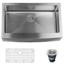 28u2033 X 18u2033 18 Gauge Durable Stainless Steel Single Bowl Hand Made Single Drain Kitchen Sink Plumbing